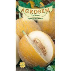 Seminte de Pepene galben Ananas - AS - Cucumis melo