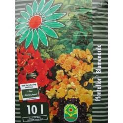 Pamant de flori 10L - Plantaflor