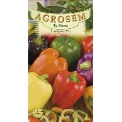 Ardei gras mix seminte - Capsicum annuum mix
