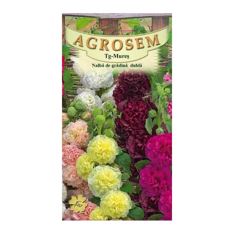 Nalba de gradina dubla seminte - Alcea rosea mix