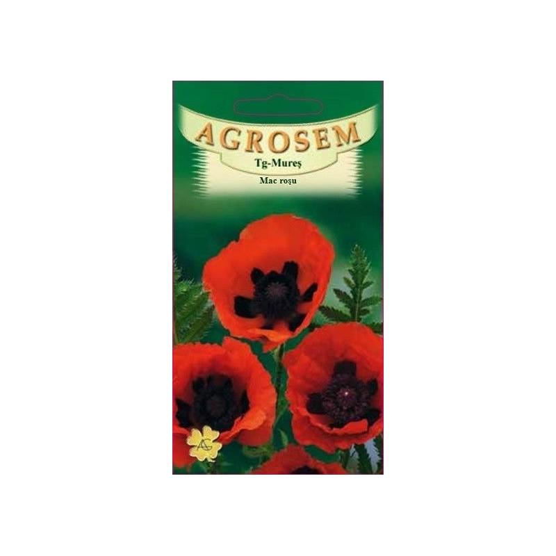 Mac rosu seminte - Papaver orientale Red