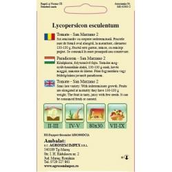 Tomate seminte - San Marzano 2