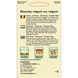 Fasole urcatoare seminte - Kentucky Wonder Wax
