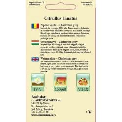 Pepene verde seminte - Charleston grey