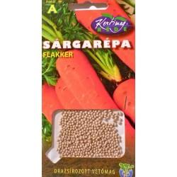 Morcovi seminte drajerate - Flakker