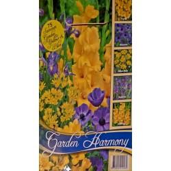 Colectia Garden Harmony galben cu albastru