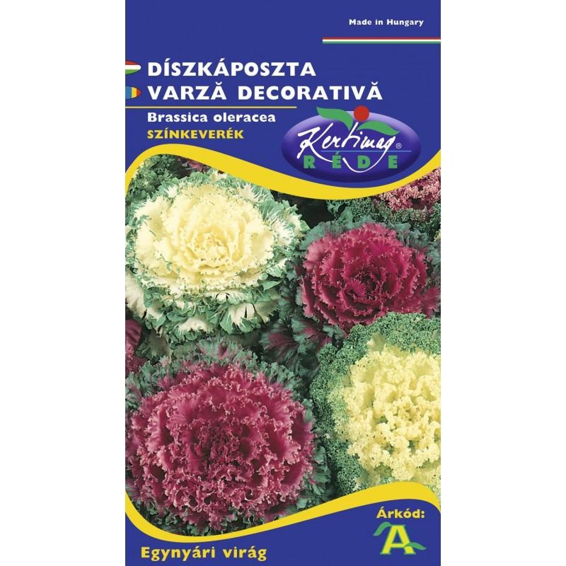 Seminte varza decorativa - KM - Brassica oleracea mix