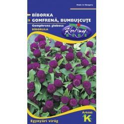 Seminte gomfrena violet - KM - Gomphrena globosa