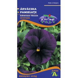 Seminte panselute albastru inchis - KM - Viola tricolor