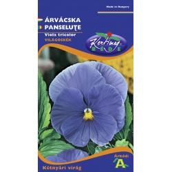 Seminte panselute albastru deschis - KM - Viola tricolor