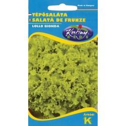 Seminte salata Lollo Bionda - KM - Lactuca sativa var. capitata