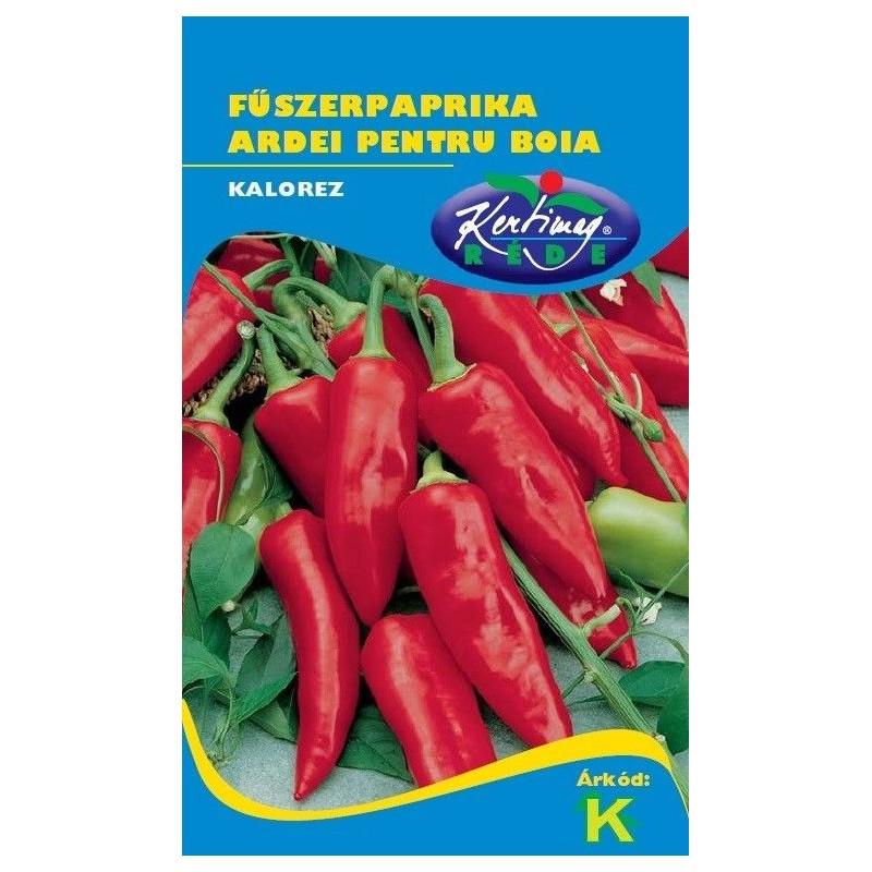 Seminte ardei pentru boia Kalorez - KM - Capsicum annuum