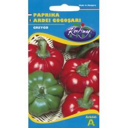 Seminte ardei gogosar Greygo - KM - Capsicum annuum