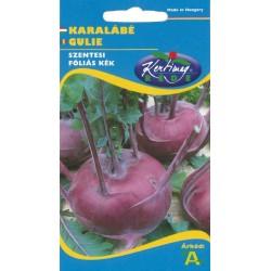 Seminte gulie Szentesi folias kek - KM - Brassica oleracea acephala