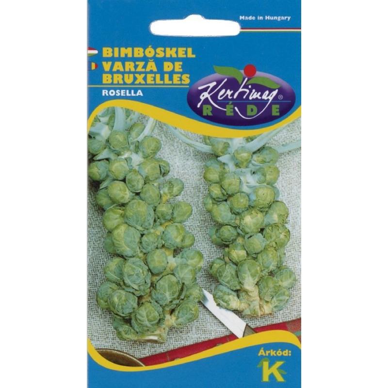Seminte varza de Bruxelles Rosella - KM - Brassica oleracea convar gemmifera
