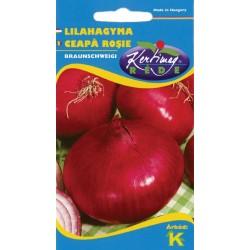 Seminte ceapa rosie Braunschweigi - KM - Allium cepa