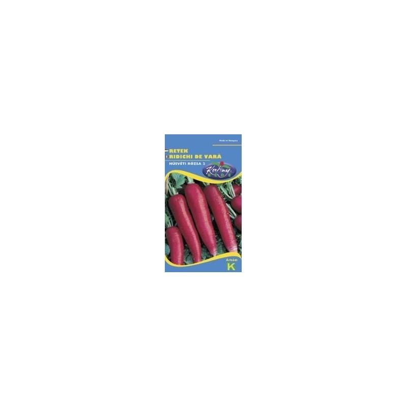 Seminte ridichi de luna Ostergruss rosa 2 - KM - Raphanus sativus