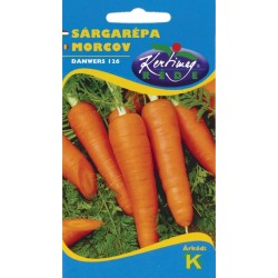 Seminte morcovi Danwer 126 - KM - Daucus carota spp. sativus