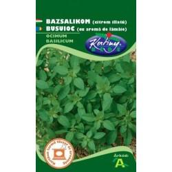 Seminte busuioc cu aroma de lamaie - KM - Ocimum basilicum Citron
