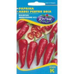 Seminte ardei pentru boia Kalocsai merevszarvu 622 - KM - Capsicum annuum