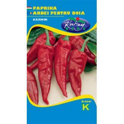 Seminte ardei pentru boia Karmin - KM - Capsicum annuum