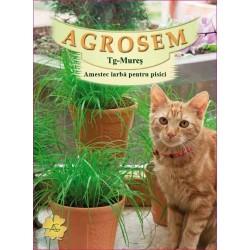 Amestec iarba pentru pisici seminte - AS 50g