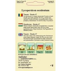 Tomate Buzau 47 seminte - AS - Lycopersicon esculentum