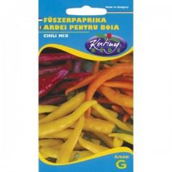 Seminte ardei pentru boia Chili mix - KM - Capsicum annuum
