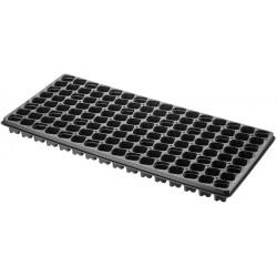 Tavita pentru pastile Jiffy de 25 mm x 128 gauri
