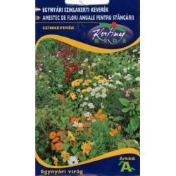 Seminte amestec de flori anuale pentru stancarie - KM