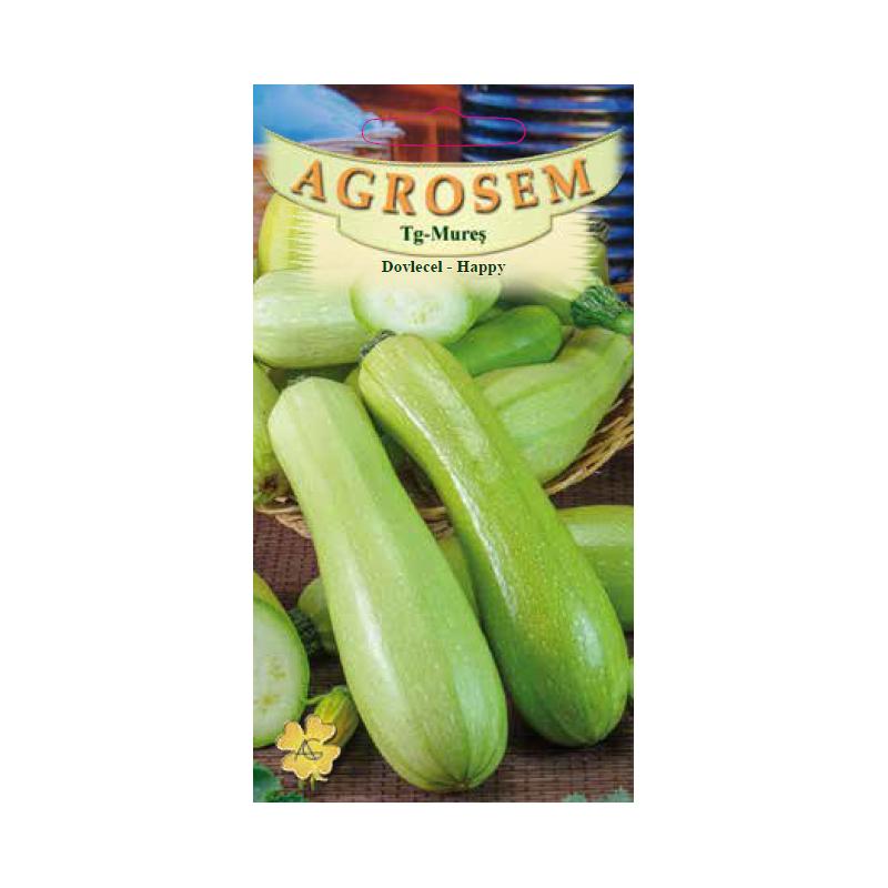 Seminte de Dovlecel Happy - AS - Cucurbita pepo var. giromontia