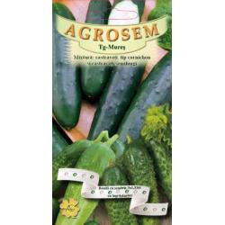 Seminte de Mixtura castraveti: tip cornichon si semilungi pe banda cu ingrasamant - AS