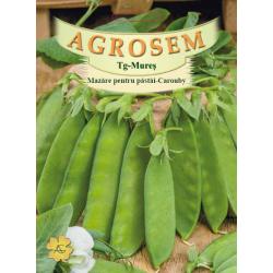 Seminte de Mazare pentru pastai Carouby 400 g - AS - Pisum saccharata