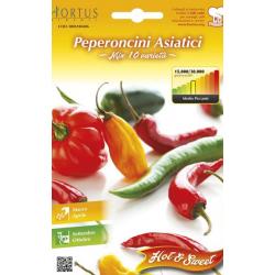 Seminte de Ardei iute Asiatic mix - HT - Capsicum annuum