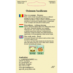 Seminte de Busuioc - AS disc - Ocimum basilicum