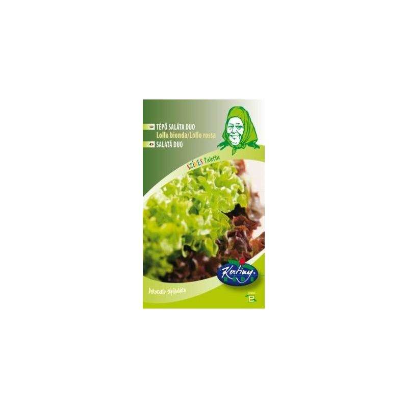 Seminte de Salata Lollo Bionda/Lollo Rosa - KM - Lactuca sativa