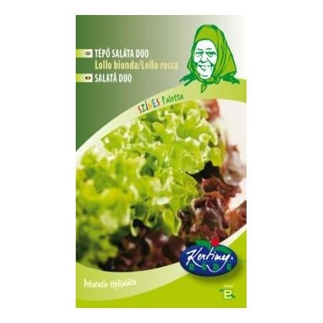 Seminte de Salata Lollo Bionda/Lollo Rosa - GB - Lactuca sativa