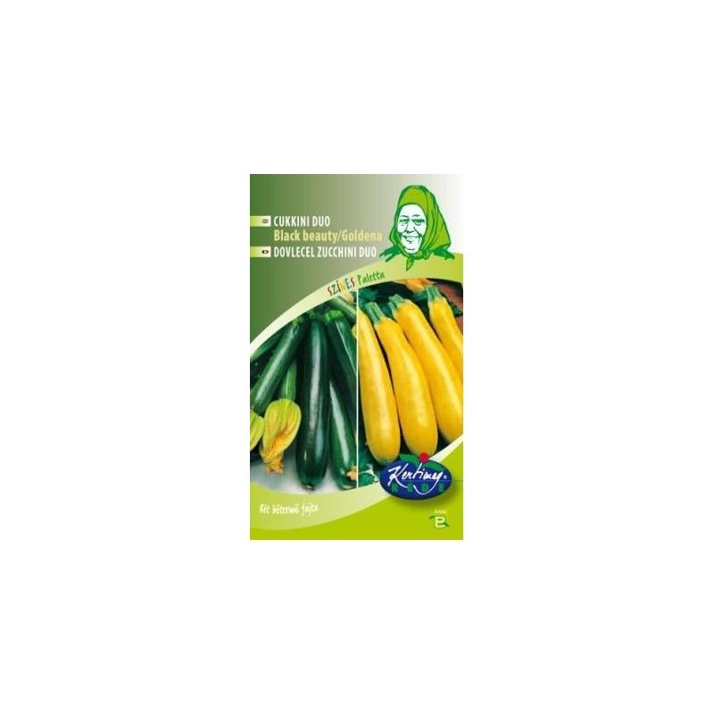 Seminte de Dovlecel Zucchini Black Beauty si Goldena - KM - Cucurbita pepo