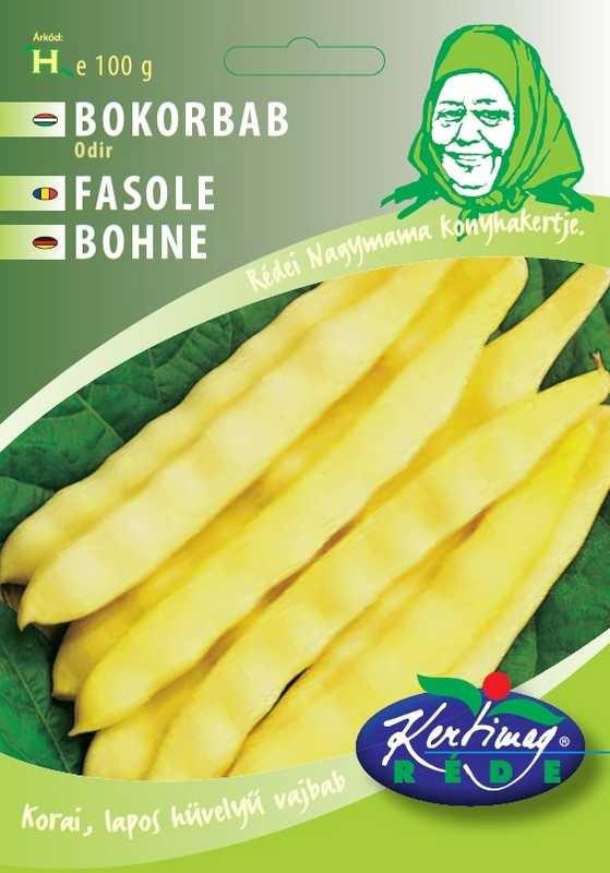 Seminte de fasole pitica Odir - 100 g - KM - Phaseolus vulgaris
