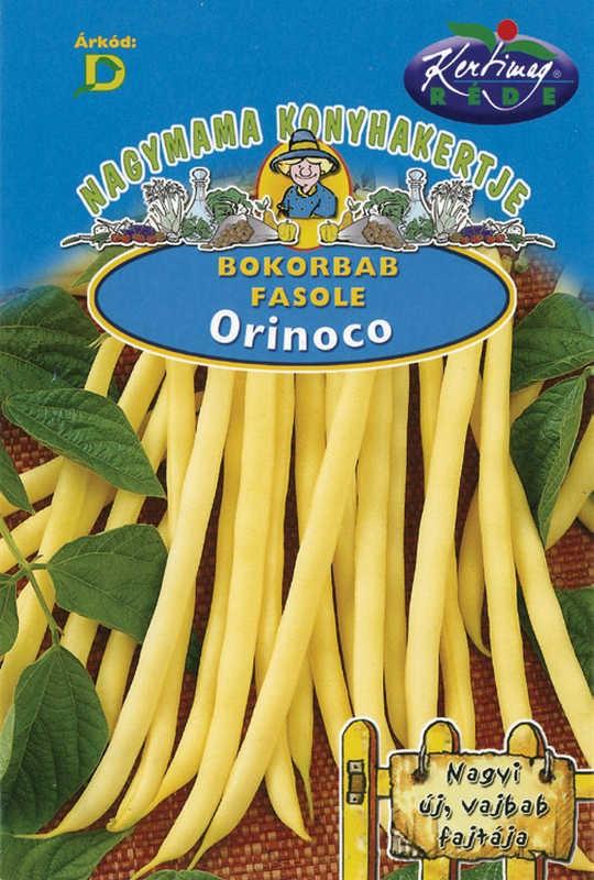 Seminte de fasole pitica Orinoco - 50 g - KM - Phaseolus vulgaris