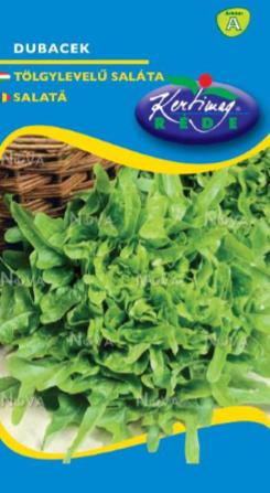 Seminte de Salata tip frunze de stejar Dubacek 1g - KM - Lactuca sativa convar. secalina