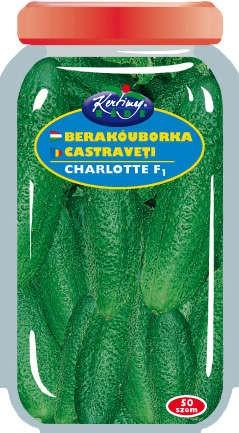 Seminte de Castraveti Charlotte F1 drajerate - KM - Cucumis sativus