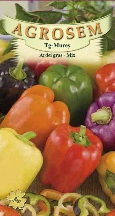 Seminte de Ardei gras mix - Capsicum annuum