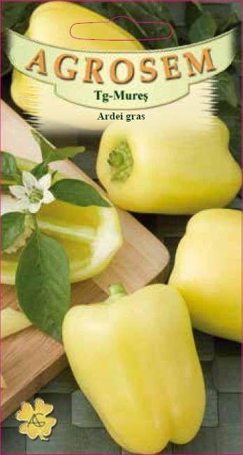 Seminte de Ardei gras Galben Superior - AS - Capsicum annuum