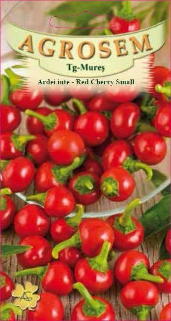 Seminte de Ardei iute Red Cherry Small - AS - Capsicum annuum