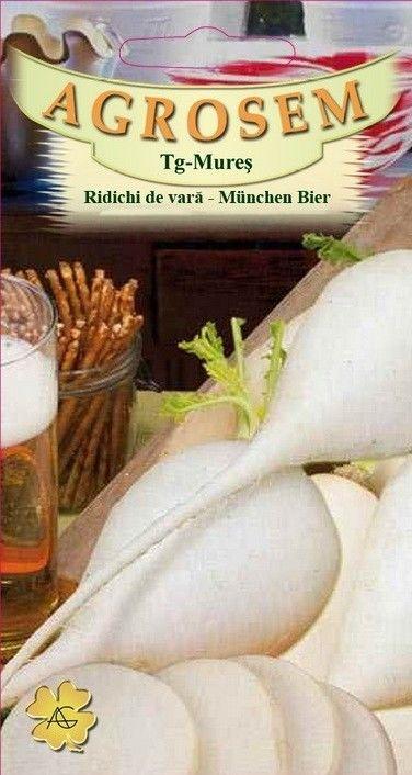 Seminte de Ridichi de vara Munchen Bier - AS - Raphanus sativus