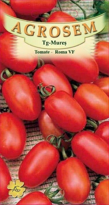 Seminte de Tomate mici Roma VF - AS - Lycopersicon esculentum