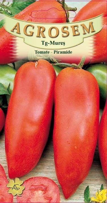 Seminte de Tomate lungi Piramide - AS - Lycopersicon esculentum