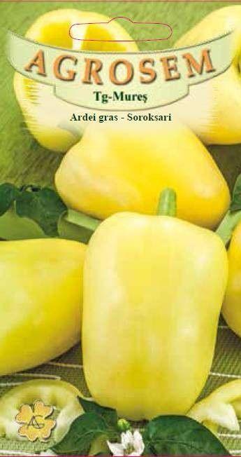 Seminte de Ardei gras Soroksari - BigPack - AS - Capsicum annuum