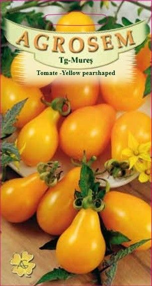 Seminte de Tomate para Yellow pearshaped - AS - Lycopersicon esculentum